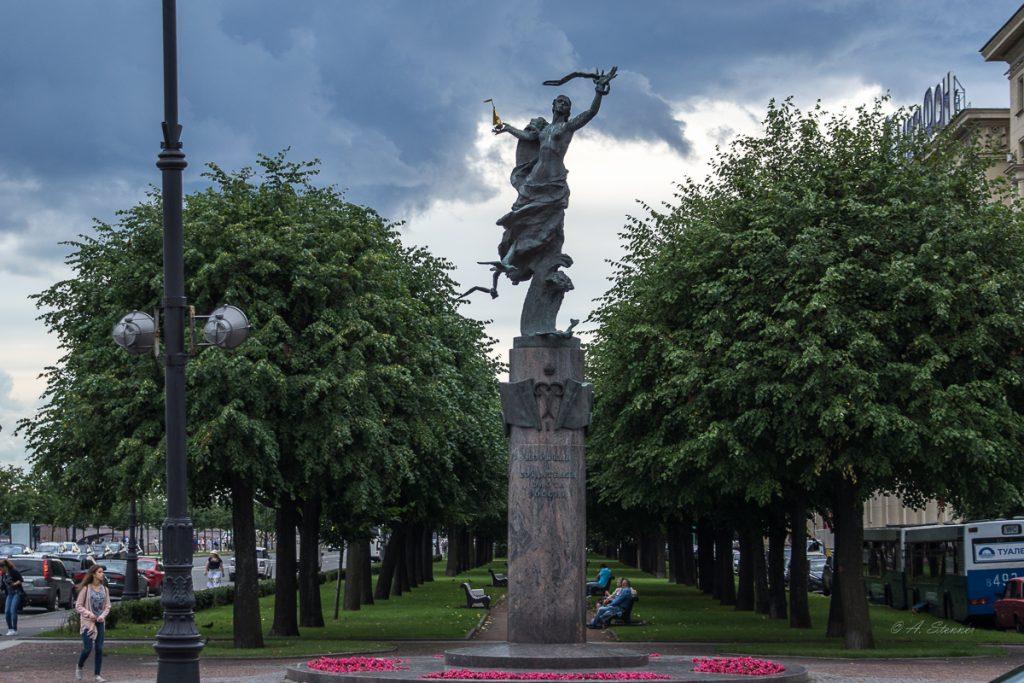 Памятник морякам и создателем российского военно-морского флота- Denkmal für die Matrosen und Schöpfer der russischen Marine